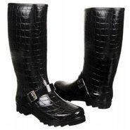 Roanoke Boots (Black Croc) - Women's Boots - 7.0 M
