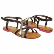 Expressed Sandals (Black Leather) - Women&#39;s Sandal