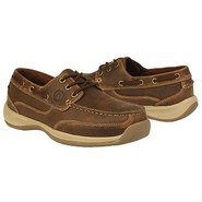 3 Eye Tie Boat Shoe Shoes (Brown) - Men's Shoes -