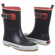 Deck Solid Casual Boots (Navy) - Women's Rain Boot