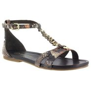 Sheila II Sandals (Brown Snake) - Women&#39;s Sandals 