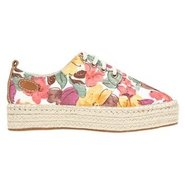 Grateful Shoes (Pink Floral) - Women's Shoes - 9.5