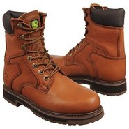 8  soft toe lacer Boots (Tan) - Men's Boots - 17.0