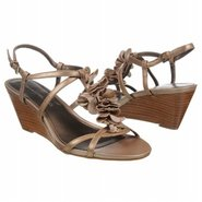 Ginelle Sandals (Gold Leather) - Women's Sandals -