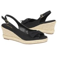 Brie Sandals (Black Twill) - Women's Sandals - 8.0