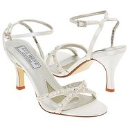 Madelyn Shoes (White Fabric) - Women's Wedding Sho