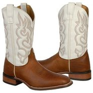 Cinch Boots (White / Redwood) - Men's Boots - 11.5