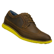 Gavin Shoes (Dk Brown/Lime) - Men's Shoes - 7.0 M