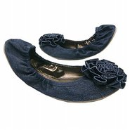 Sicily Shoes (Denim) - Women's Shoes - 12.0 M