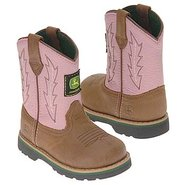 Wellington Toddler Boots (Tan/Pink) - Kids' Boots
