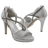 Prima Shoes (Diamond White Satin) - Women's Weddin