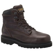 6  Waterproof Work Boot Boots (Dark Brown) - Men's