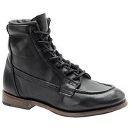 Vanessa Boots (Black Leather) - Women's Boots - 11