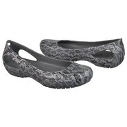 Kadee Snake Print Shoes (Black/Silver) - Women's S