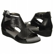 Quincy Sandals (Black Leather) - Women&#39;s Sandals -