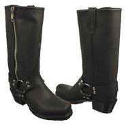 Harness Boots Boots (Black Oiltan Leather) - Women