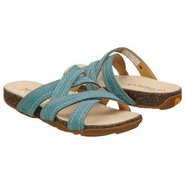 BareStep Slide Sandals (Teal) - Women&#39;s Sandals - 