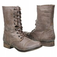 Troopa Boots (Stone Leather) - Women&#39;s Boots - 5.5