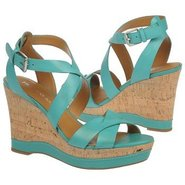 Sophie Shoes (Turquoise Leather) - Women&#39;s Shoes -