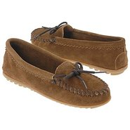 Suede Skimmer Moc Shoes (Dusty Brown) - Women&#39;s Sh