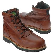 Tractor Safety Toe Boots (Tan) - Men's Boots - 9.0