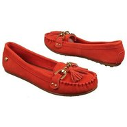 Cypress Moc Shoes (Red Suede) - Women's Shoes - 9.