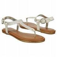 Peg Sandals (White) - Women&#39;s Sandals - 6.0 M