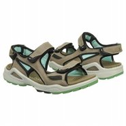Chiappo Sandals (Warm Grey/Emerald) - Women's Sand