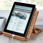 Lipper Bamboo Tablet/iPad Stand, 1887