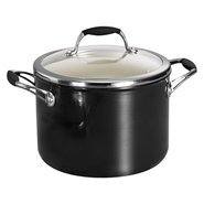 Gourmet Ceramica_01 Deluxe Covered Sauce Pot, 6 qu