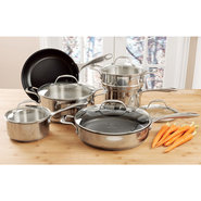 Curtis Stone 'Steelworks' Cookware Set, 10 piece -
