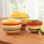 BIA Cordon Bleu Striped Prep Bowls - Set of 3