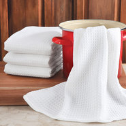 Jumbo Waffle Kitchen Towels - Set of 4