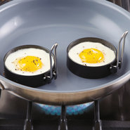 Round Nonstick Egg Rings, 3 inch - Set of 2