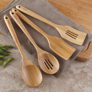 Bamboo Kitchen Utensils, Set of 4 - Set of 4