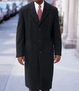 Merino Wool Topcoat Full Length- Sizes 44-52 JoS.
