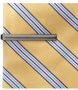 Tie Bar- Polished Silver/Brushed Nickel JoS. A. Ba