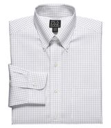 Traveler Pinpoint Check Buttondown Collar Dress Sh