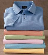 Signature Silk/Cotton Tonal Polo by JoS. A. Bank M
