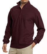 Traveler Long-Sleeve Half-Zip Pique by JoS. A. Ban
