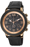 Eco-Drive BRT Black & Rose Gold Stainless Steel Me
