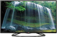 50   Black LED 1080P 120Hz 3D Smart HDTV - 50LA620