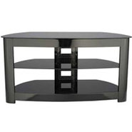 Black Audio Video Stand - BFAV344