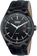 Eco-Drive Mens Black Dial Watch - AW1135-01E