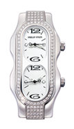 Signature Mini Stainless Steel Diamond Womens Watc