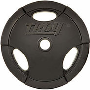Troy Barbell 45lb Urethane Encased Olympic Grip Pl