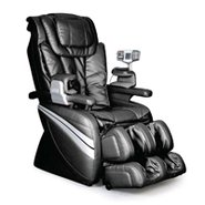 Black Reclining Spa Function Massage Chair - EC-36