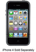 Black CandyShell Flip For iPhone 4S - SPK-A0794