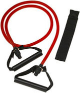 Red Medium Xertube Resistance Band With Door Attac