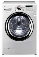 3.6 Cu.Ft. Front Load White Washer And Dryer Combo
